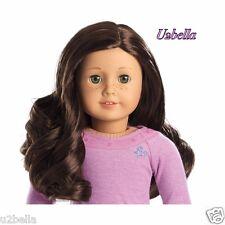 AMERICAN GIRL TRULY ME Doll:Light Skin Freckles, Dark Brown Hair, Hazel #55 NEW