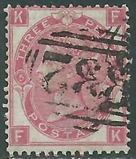 1867-80 GREAT BRITAIN USED SG 103 3d PLATE 6 (FK) - RC58-2