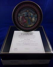 Villeroy & Boch Heinrich Russian Fairy Tales Stone Flower No.4 plate BOXED BF053