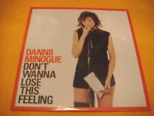 Cardsleeve Single cd DANNII MINOGUE Don't Wanna Lose This Feeling 2TR 2003 dance