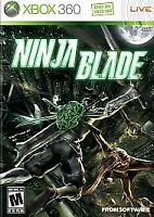 Ninja Blade (Microsoft Xbox 360, 2009) Brand New Factory Sealed RATED M