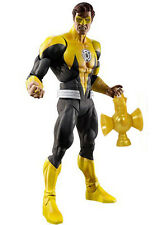 "DC Comics Green Lantern Yellow Lantern Hal Jordan 6"" carton FIGURE RARE de la justice"