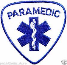 PARAMEDIC EMERGENCY MEDICAL TECHNICIAN EMT EMS Patch Iron on Uniform Vest Suit