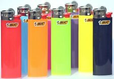 5 x BIC SLIM lighters Random Colour Selection 7.5cm x 2cm Flint Soft Flame NEW