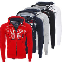Geographical Norway Herren Gravity Winter Sweat Jacke Pullover Polo Hoodie Neu ✔