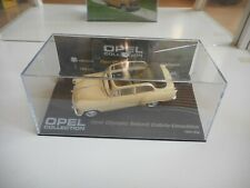 Opel Collection Opel Olumpia Rekord Carbio Limousine in White on 1:43 in Box