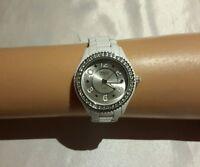 Embassy by gruen Women's white stainless steel base metal wrist watch