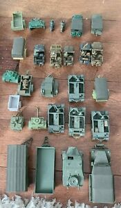 Military WWII lot of 27 Mini Army Pieces