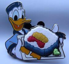 Disney Epcot Food & Wine Festival 2016 Sushi Nigiri Box Set Donald Duck Roll Pin