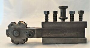 VINTAGE COLCHESTER LATHE QUICK RELEASE TOOL HOLDER - WILL FIT OTHER LATHES -