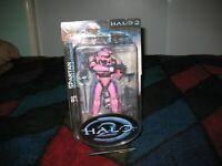 Halo 2 - Limited Edition Pink Spartan Action Figure - NIB - Joyride Studios