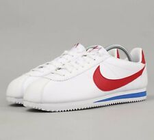 Nike Classic Cortez OG Leather 749571-154 White Red Royal Mens Running Shoes NIB