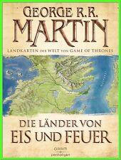 Die Länder von Eis und Feuer 12 vierfarbige Landkarten von Game of Thrones