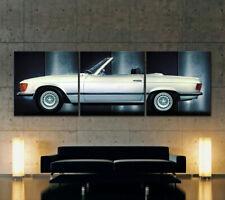 Mercedes Benz SL w107 lienzo imagen son impresiones artísticas r107 roadster 280 380 300 450 500