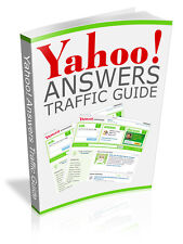 Yahoo Answers Traffic Guide PDF eBook With resale rights