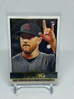 2020 Topps Gallery #74 Alex Young Rookie Card Arizona Diamondbacks