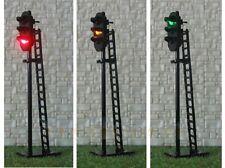 New 1 x Triple Head R/Y/G LED Signal Yard Lamp Light 12-16V