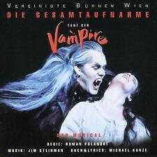 TANZ DER VAMPIRE (GESAMTAUFNAHME) 2 CD NEW+