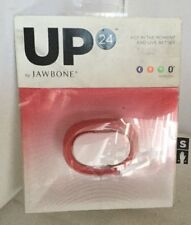 New UP 24 By Jawbone Bluetooth Wireless Wristband Fitness Tracker Red SMALL cw