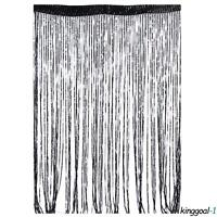 String Sparkle Curtains Patio Fly Screen Fringe Hanging Room Divider Door Window