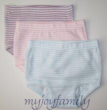 HANNA ANDERSSON Organic Under Underwear Classic Stripes XS 80 90 18-24 2T 3T NWT