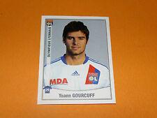 226 YOANN GOURCUFF OLYMPIQUE LYON OL GERLAND PANINI FOOT 2011 FOOTBALL 2010-2011