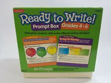 Lakeshore Ready To Write Prompt Box Grade 4-6 Homeschool Educational Never Used