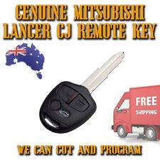 Mitsubishi Lancer CJ - GENUINE Remote 3 Button Key - Brand New - Free Post - x1