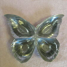 Fitz & Floyd Silver Butterfly Serving Dish Nuts, Candy, Mints.