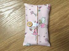 Handmade Packet Tissue Holder Made Using Cath Kidston Garden Fairies Fabric