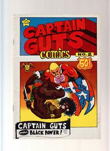 Captain Guts No. 2 first print (1-/1-2) Underground Comix