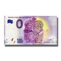 2019-1 Bulgaria BGAA Euro Billet Souvenir Banknote Euro Schein