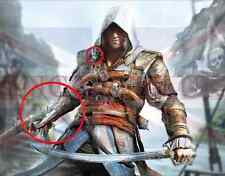 ASSASSINS CREED 4 FOUR BLACK FLAG PIRATE HIDDEN BLADE (PVC) SAME DAY DISPATCH