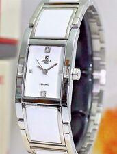 KIENZLE  Damenuhr  Metall Armband mit Ceramic