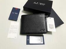 MEN'S DESIGNER ARMANI JEANS BIFOLD WALLET 06V2F GIFT BOXED 4SLOTS COIN PKT