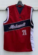bdd8edad9 Vintage Tupac Shakur Makaveli Basketball Jersey 71 Boys XL 18-20