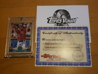 2019 Topps Vault Gypsy Queen 1/1 Juan Soto Blank Back w/ Certificate One of One