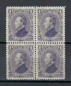 Honduras 1878 Sc# 30 President Francisco Morazan block 4 MNH