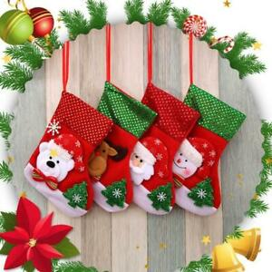 Christmas Tree Ornament Party Xmas Hanging Stocking Holiday Festival Supplies