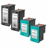 4PK C8767WN C9363WN for HP 96 97 BLACK COLOR Ink Printer Cartridge 8750gp 8750xi