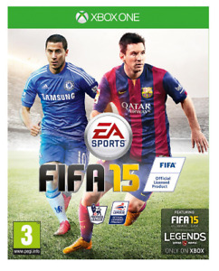 Xbox One - FIFA 15 (2015) **New & Sealed** Official UK Stock (REF: 20 19) XB1