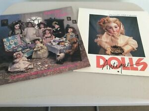 THERIAULT'S 1989 & 1990 ANTIQUE DOLL CALENDARS