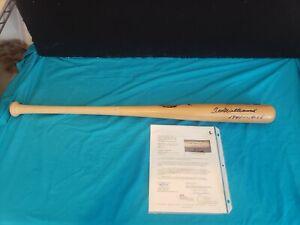 Ted Williams Signed Baseball Bat. 1941-.406 / JSA Certified
