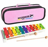 Sonor BWG Boomwhackers Glockenspiel + Tasche Pink