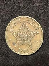 1966 Bahama Islands 1 Cent Starfish