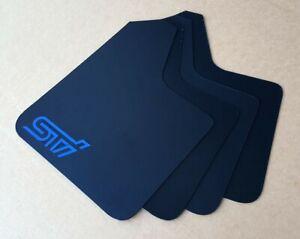 [SR] STARTER Mud Flaps Set BLACK with Custom Vinyl A
