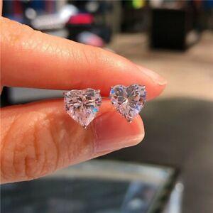 Elegant Women Cubic Zircon Dangle Earrings Crystal CZ Stud Earrings Jewelry Gift