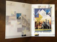 2005 Folder Poste Grandi Eventi Filatelici Valori d'Italia Munchen Monaco K2 .