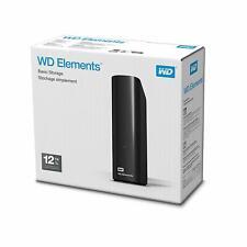 Western Digital 12 TB Elements Desktop externe Festplatte USB3.0 -WDBWLG0120HBK