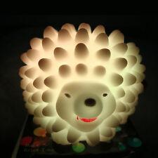 Christmas kids gifts LED Night Lights cartoon Childrens Toy led lamps Hedgehog